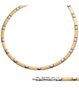 Collier Halskette aus Edelstahl - 4053258302743