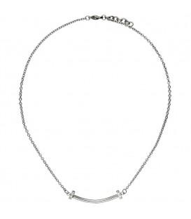 Collier Halskette aus Edelstahl - 4053258334423