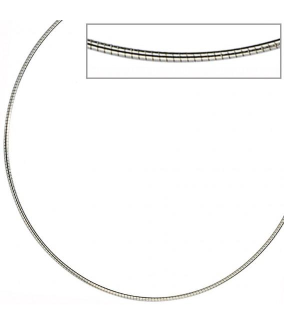 Halsreif Edelstahl 1,0 mm 42 cm Halskette Kette.