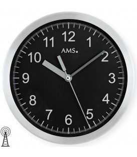 AMS 5911 Wanduhr Funk - 4037445140493