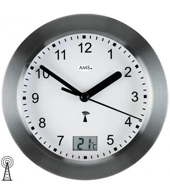 AMS 5925 Wanduhr Baduhr - 4037445141063