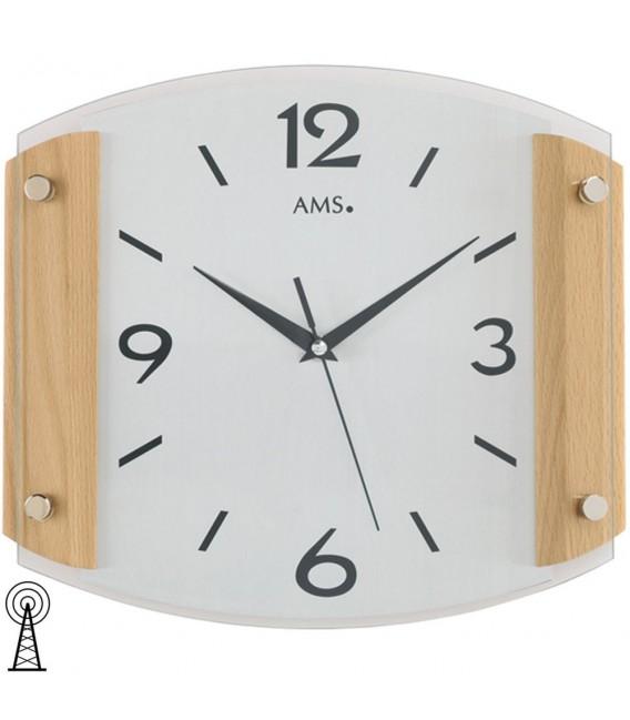 AMS 5938/18 Wanduhr Funk - 4037445141940
