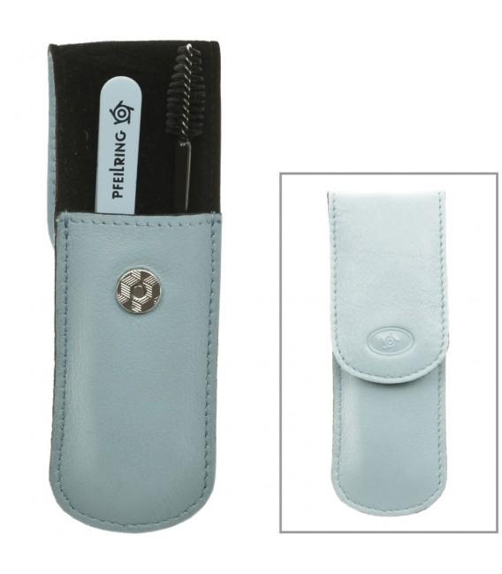 Pfeilring Taschenetui Nappaleder hellblau - 4003349006067