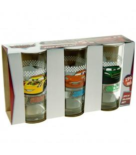 CARS Kinder Gläser-Set 3 - 4043891237069 Produktbild