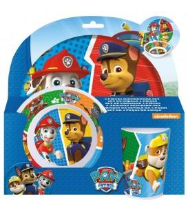 PAW PATROL Kinder Frühstücks-Set - 4043891252871