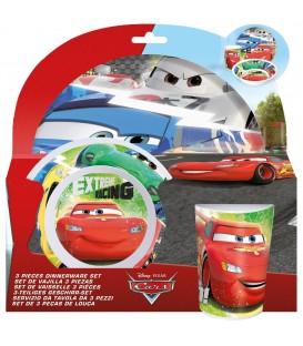 CARS Kinder Frühstücks-Set 3-teilig - 4043891637067 Produktbild