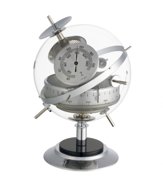 TFA Wetterstation Sputnik für innen, Barometer, Thermometer, Hygrometer.