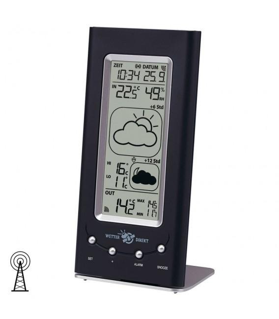 TFA Wetterstation Funk, satellitengestützte Profi-Wettervorhersage.