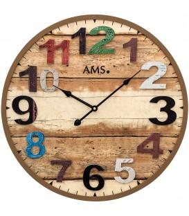 AMS 9539 Wanduhr Quarz - 4037445154094