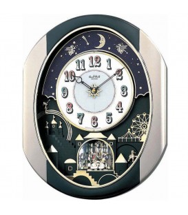 Rhythm 7751 Wanduhr MAGIC - 4895049419007