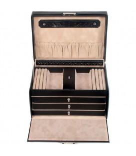 Sacher Schmuckkoffer Schmuckkasten Leder - 4031604002646 Produktbild