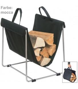 Blomus Holztrage MADRA Textil - 4008832653858
