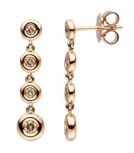 Ohrhänger 585 Gold Rotgold - 4053258334928