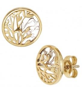 Ohrstecker rund 585 Gold - 4053258200285