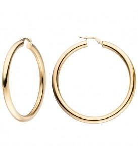 Creolen 750 Gold Gelbgold - 4053258341223