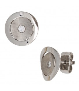 Ohrstecker 950 Platin matt - 4053258247532
