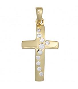 Anhänger Kreuz 333 Gold - 4053258247600