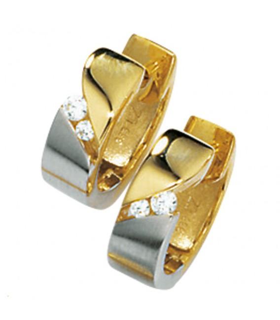 Creolen 333 Gold Gelbgold - 4053258047385 Zoom