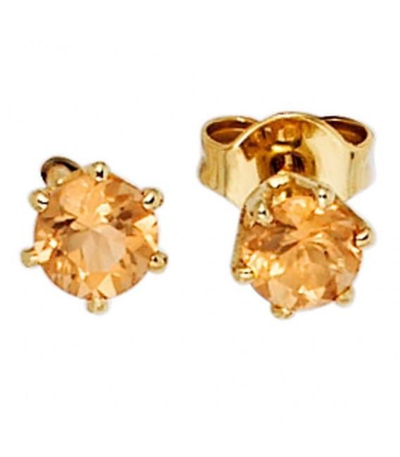 Ohrstecker rund 585 Gold - 4053258204894