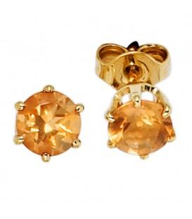 Ohrstecker rund 585 Gold - 4053258204900