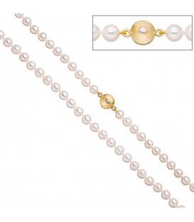 Perlenkette aus Akoya Perlen - 4053258322352