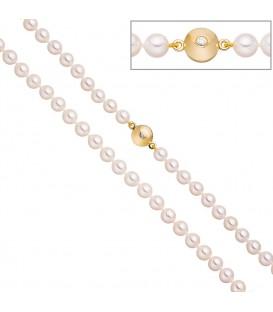 Perlenkette aus Akoya Perlen - 4053258322369