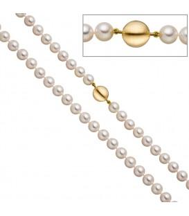 Perlenkette aus Akoya Perlen - 4053258322390