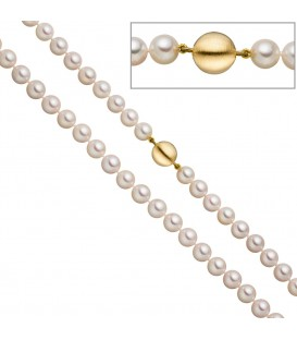 Perlenkette aus Akoya Perlen - 4053258322413