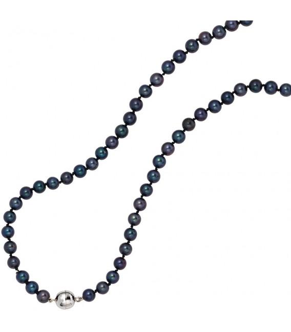 Collier Perlenkette Akoya Perlen - 4053258209264