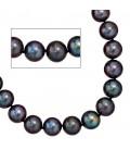Collier Perlenkette Süßwasser Perlen - 32561