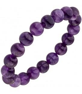 Armband Amethyst lila violett - 4053258342060