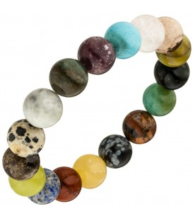 Armband mit Edelsteinen multocolor - 4053258342305
