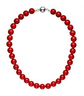 Halskette Kette Muschelkern Perlen - 4053258342367