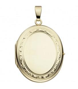 Medaillon oval 585 Gold - 4053258210000