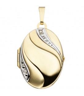 Medaillon oval 333 Gold - 4053258255285