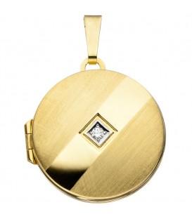 Medaillon rund 333 Gold - 4053258255247 Produktbild
