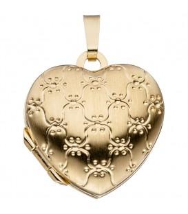 Medaillon Herz 333 Gold - 4053258255261
