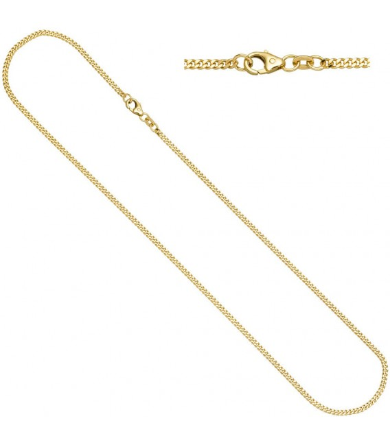 Panzerkette 585 Gelbgold diamantiert - 4053258064795 ...