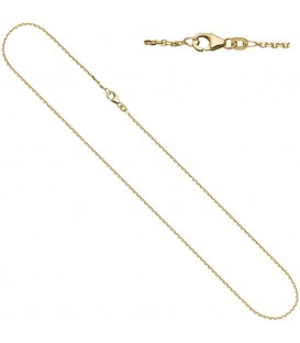 Ankerkette 333 Gelbgold diamantiert - 4053258064993