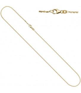 Ankerkette 585 Gelbgold diamantiert - 4053258065037
