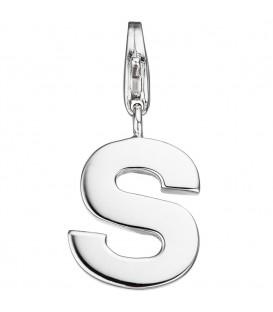 Einhänger Charm Buchstabe S - 4053258307359