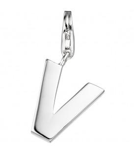 Einhänger Charm Buchstabe V - 4053258307380