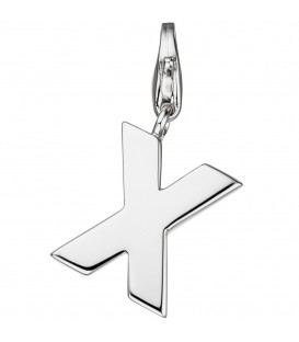 Einhänger Charm Buchstabe X - 4053258307403
