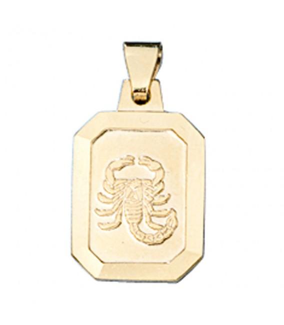 Anhänger Sternzeichen Skorpion 333 - 4053258084236