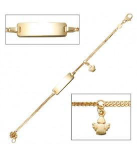 Schildband Engel 585 Gold - 4053258085073