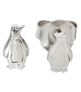 Kinder Ohrstecker Pinguin 925 - 4053258211670