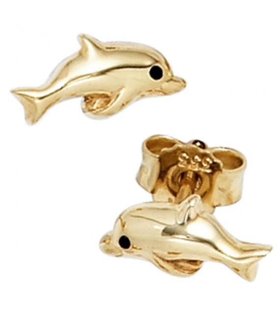 Kinder Ohrstecker Delfin 333 - 4053258400845