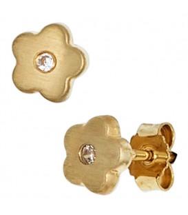 Kinder Ohrstecker Blume Blumen - 4053258211335