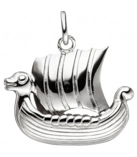 Anhänger Wikingerboot 925 Sterling - 4053258308837