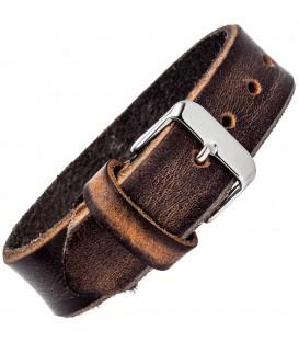 Armband Leder braun dunkelbraun - 4053258312650